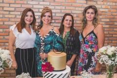Cristiane Figueiredo, Silvinha Carneiro, Maria Luiza Bezerra e Joseane Câmara