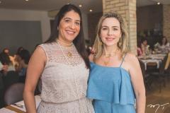 Elisa Oliveira e Suyane Dias Branco