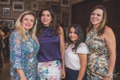 Idna Holanda, Denise Queiroz, Micheline Freitas e Cíntia Pinto