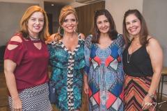 Inês Cavalcante, Silvinha Carneiro, Simone Jereissati e Gena Campos