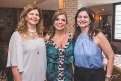 Ivana Guedes, Silvinha Carneiro e Maria Helena Filgueiras