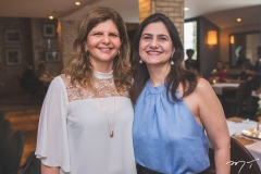 Ivana Guedes e Maria Helena Filgueiras