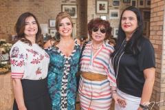 Márcia Braga, Silvinha Carneiro, Trica Teixeira e Jaciara Carneiro
