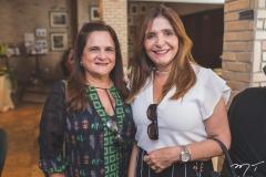 Maria Luiza Bezerra e Cristiane Figueiredo