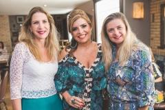 Marjorie Marshall, Silvinha Carneiro e Idna Holanda
