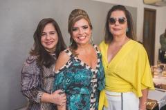 Martinha Assunção, Silvinha Carneiro e Cláudia Gradvohl