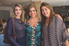 Michele Aragão, Silvinha Carneiro e Ana Vládia Barreira