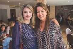Michele Aragão e Ana Vládia Barreira