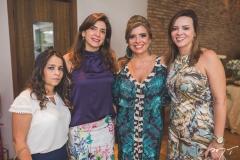 Micheline Freitas, Denise Queiroz, Silvinha Carneiro e Cíntia Pinto