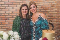 Nájla Corrêa e Silvinha Carneiro