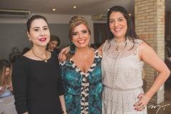 Paula Barreira, Silvinha Carneiro e Elisa Oliveira