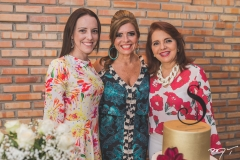 Roberta Brígido, Silvinha Carneiro e Silvana Brígido