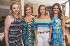 Sandra Fujita, Silvinha Carneiro, Cláudia Fujita e Eveline Fujita