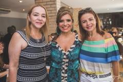 Sandra Fujita, Silvinha Carneiro e Cláudia Fujita