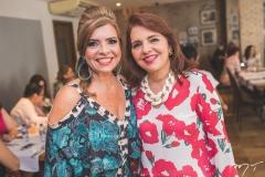 Silvinha Carneiro e Silvana Brígido