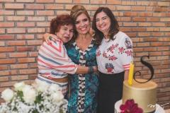 Trica Teixeira, Silvinha Carneiro e Márcia Braga