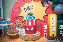 Aniversário de 3 anos de Theo Briand