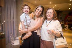 Benjamin Lins, Priscilla Hercos e Maria Helena