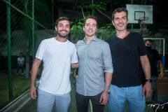 Marcelo Gomes, Roberto Briand e Tiago Carneiro