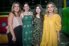 Priscilla Hercos, Gabriela Rolim, Themis Briand e Andreia Cordeiro