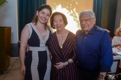 Ana Célia Castro, Zuleide e Paulo Elpídio Menezes