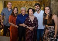 George e Martinha Assunção, Paulo Elpídio e Zuleide Menezes, Thiago e Paulinha Assunção
