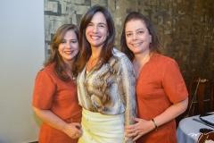 Martinha Assunção, Ana Virginia Martins e Cláudia Gradvohl