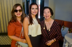 Martinha Assunção, Lorena Pouchain e Zuleide Menezes