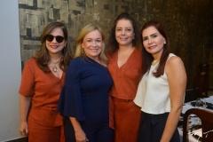 Martinha Assunção, Rejane Porto, Cláudia Gradvohl e Lorena Pouchain