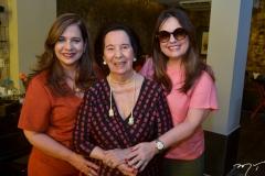 Martinha Assunção, Zuleide Menezes e Erica Girão