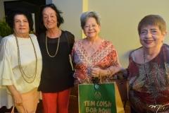 Nádia Barreto, Luiza Alcântara, Antonieta Bezerra e Marta Carvalho