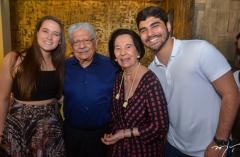 Paulinha Assunção, Paulo Elpídio e Zuleide Menezes e Thiago Assunção