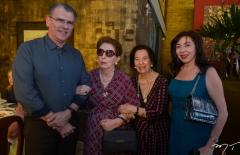 Randal e Terezinha Pompeu, Zuleide Menezes e Gina Pompeu