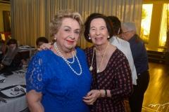 Silvia Diogo de Holanda e Zuleide Menezes