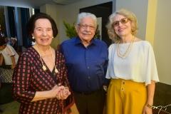 Zuleide, Paulo Elpídio e Marlene Menezes