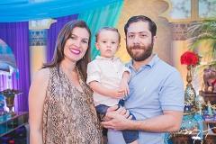 Juliana Vieira, Murilo e Ismael Gadelha