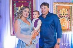 Kamila Monteiro, Ian Victor e Adriano Barbosa