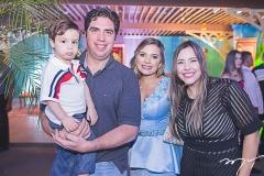 Lucas Figueiredo, Júlio Figueiredo, Kamila Monteiro e Paula Figueiredo