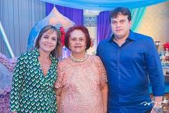 Milena, Gloria e Adriano Barbosa