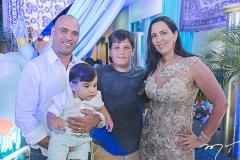 Ricardo, César, Marcelo e Márcia Raz