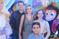 Rodrigo, Manuela Beatriz e Davi Vicentini