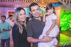 Rosane, Eduardo e Maria Eduarda Correia