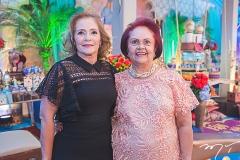 Sandra Monteiro e Gloria Barbosa