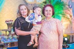 Sandra Monteiro, Ian Victor e Gloria Barbosa