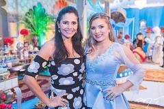 Tarsi Bittencourt e Kamila Monteiro