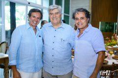 Aderaldo Silva, Amarílio Macedo e  Ivan Bezerra