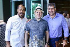 Antonio Almeida, Igor Barroso e Carlos Dale