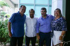 Aroldo Pedreira, Antonio Almeida, Carlos Dale e Marilac Queiroz