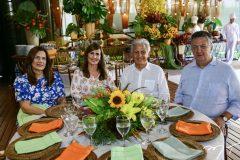Beth,  Rita, Otto e João Sá Cavalcante