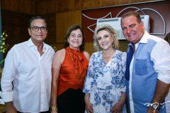 Beto e Ana Studart, Graça e Jório da Escóssia